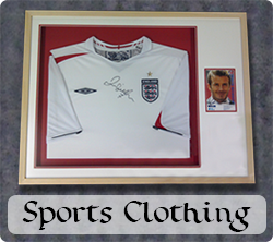 Framed Sports Clothing